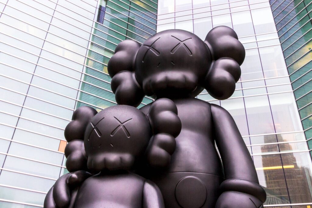 """""""Companion"""" – the most famous work of KAWS. https://www.grailed.com/drycleanonly/kaws-fashion-history"""