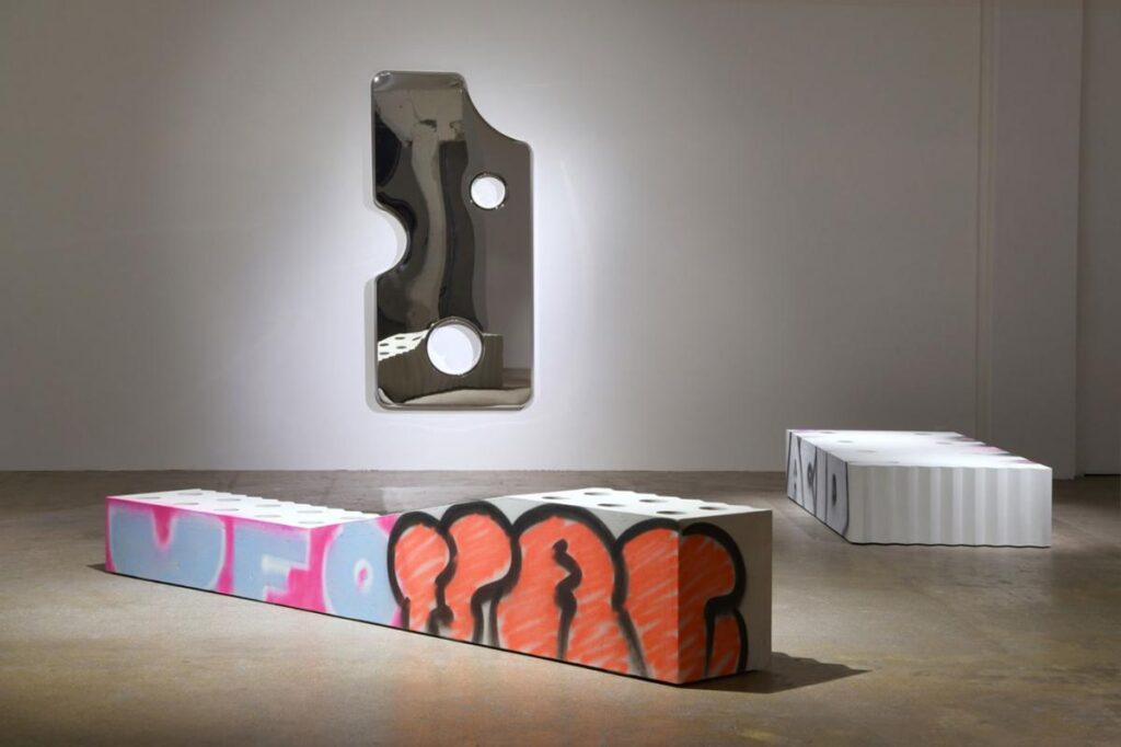 "Galerie Kreo x Virgil Abloh, ""Efflorescence"", Paryż, 2020."