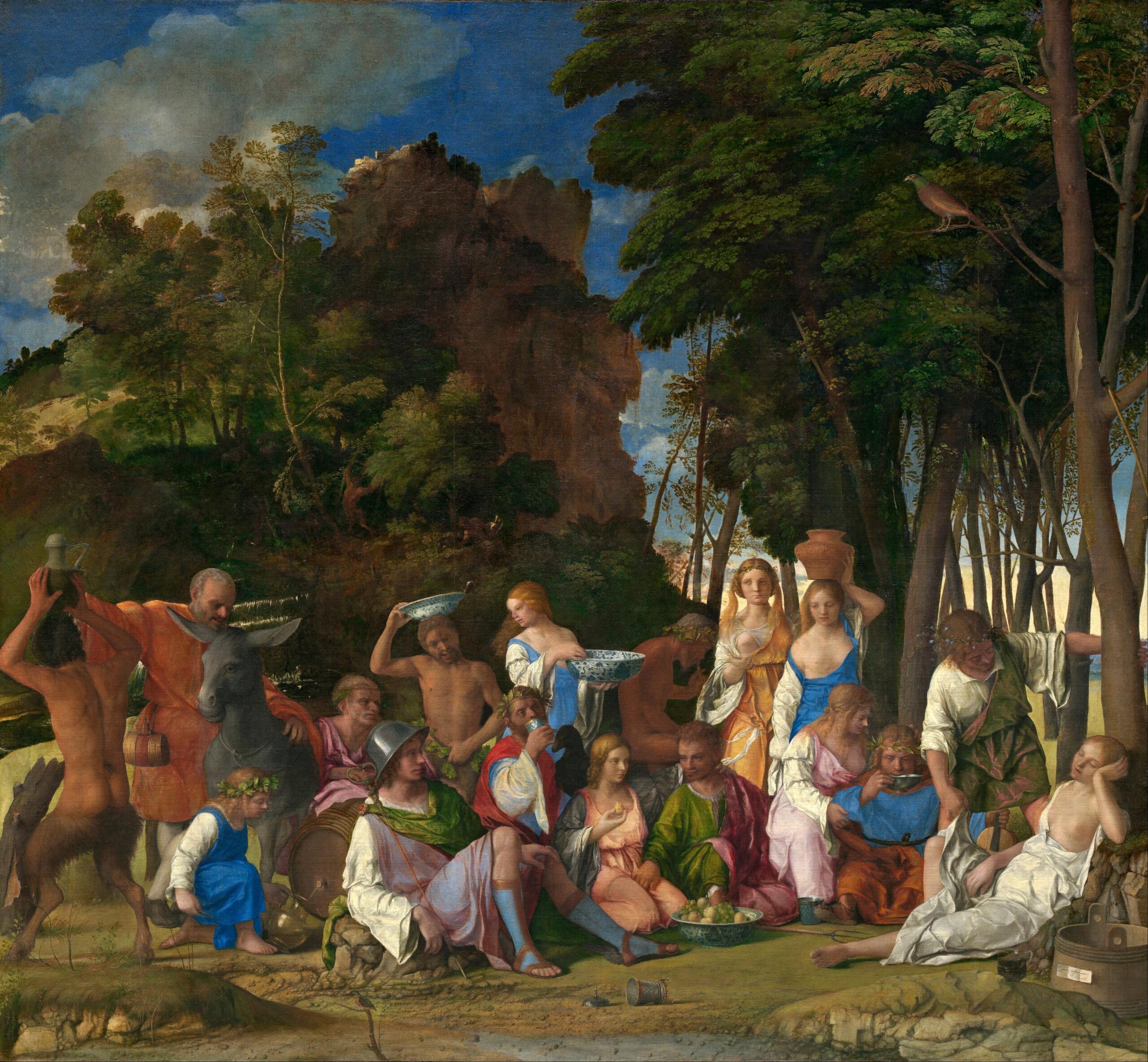 """Vittore Carpaccio, """"Polowanie na Lagunie"""", około 1490-95 roku, Muzeum J. Paula Getty'ego, Los Angeles, źródło: Wikipedia"""