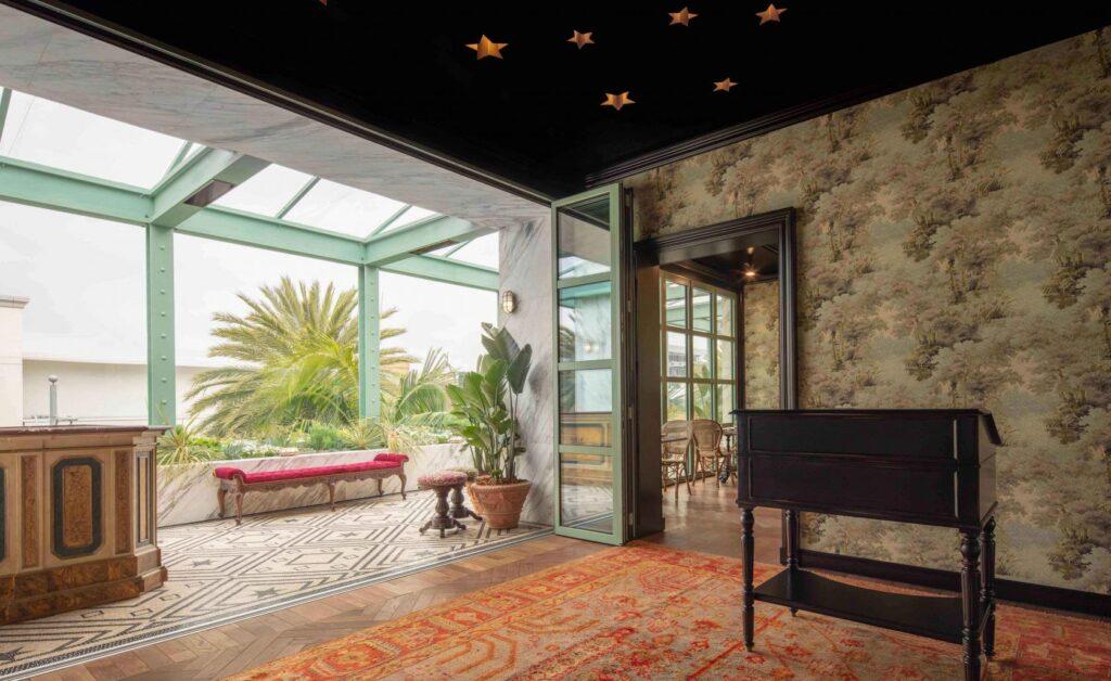 Gucci Osteria, Beverly Hills, USA, źródło: https://www.wallpaper.com/travel/usa/beverly-hills/restaurants/osteria-gucci-da-massimo-bottura#0_pic_1
