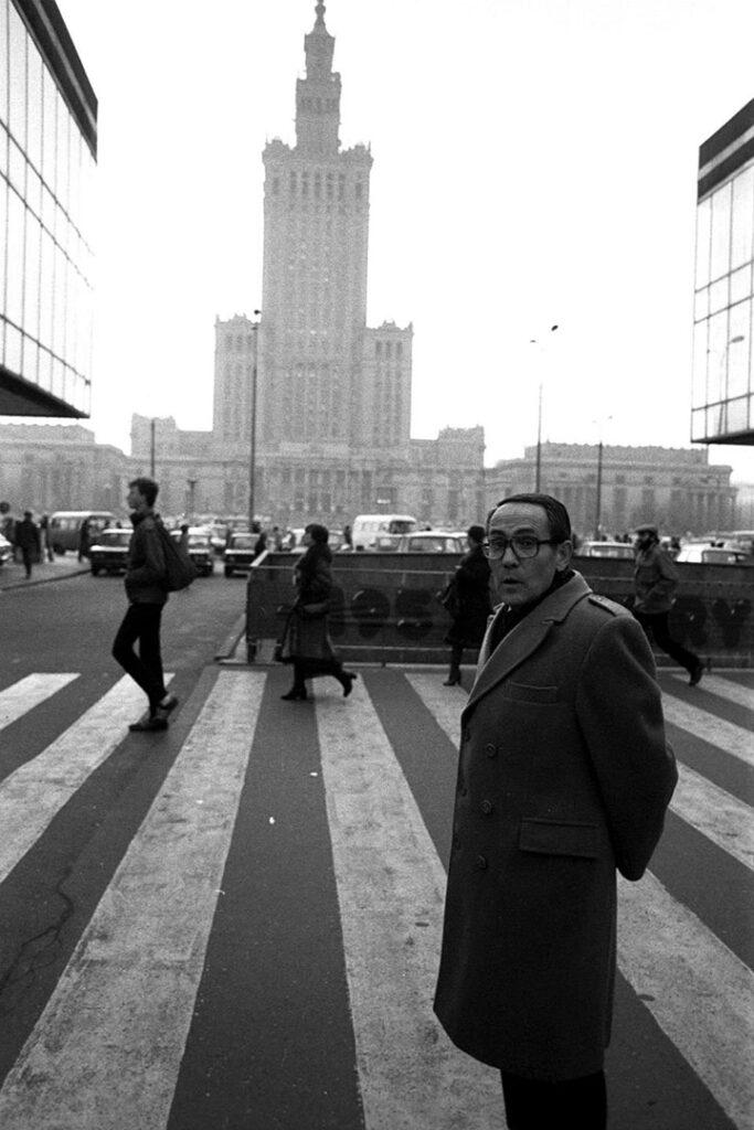 """Tadeusz Rolke """"Spacer z Tadeuszem Konwickim"""", 1982/2007"""